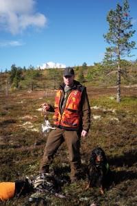 Jonas Hunting Experience, Scandinavian Mountains, gamebird, ripjakt, Sälen, Sälenfjällen